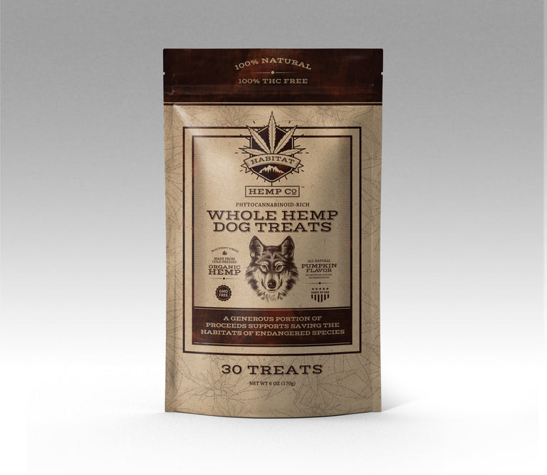 Whole Hemp Dog Treats (CASE)