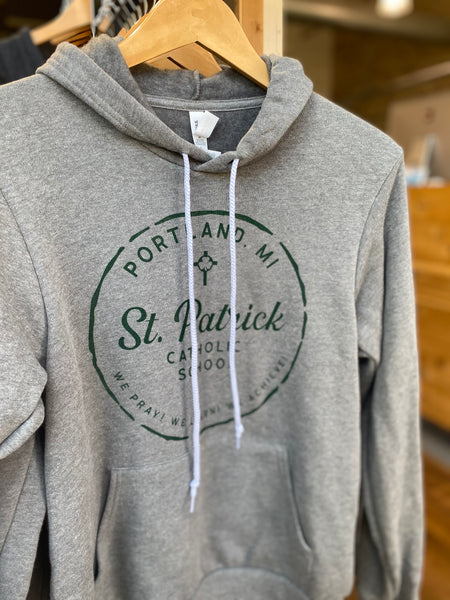 Bella Canvas Hoodie - St. Patrick Catholic School by Fabricated Customs