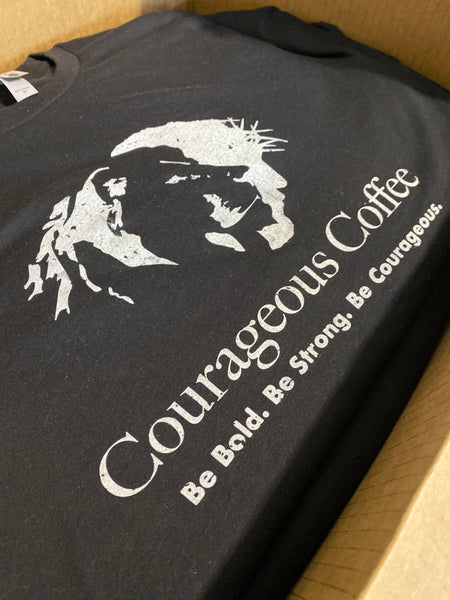 Courageous Coffee Custom Apparel