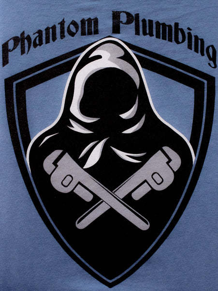 Phantom Plumbing Custom Logo Shirt