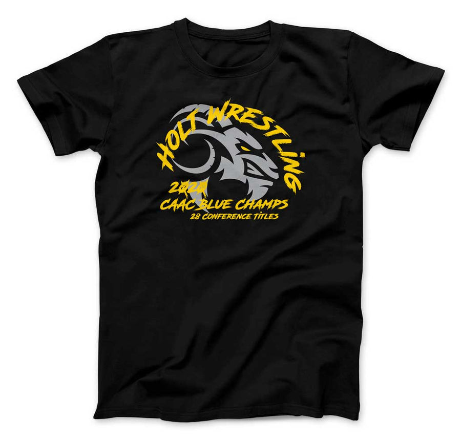 Holt Wrestling - CAAC Champs T-Shirt