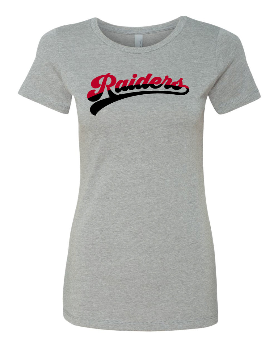 Raiders Baseball - 2021 Women's Adult Grey T-Shirt