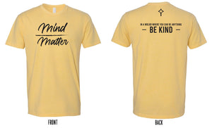 St. Patrick Catholic School - Mind Over Matter T-shirt