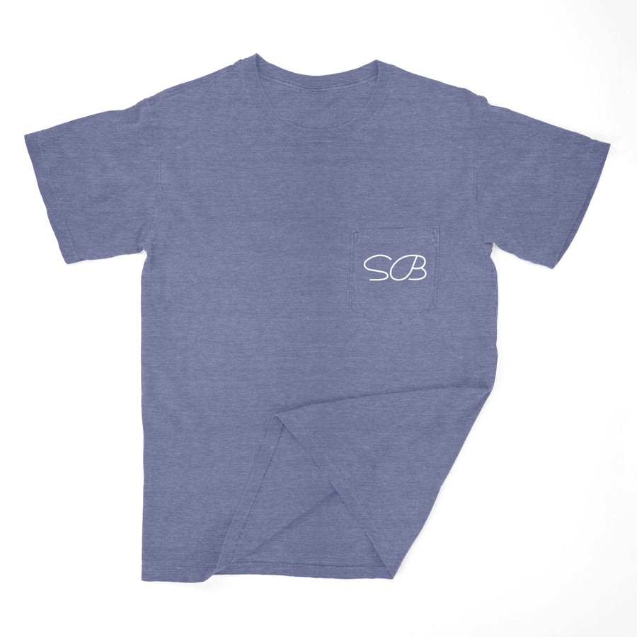 Stone Broke 2-Sided Pocket T