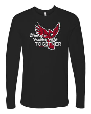 Portland High School - Birds of a Feather Long Sleeve T-Shirt