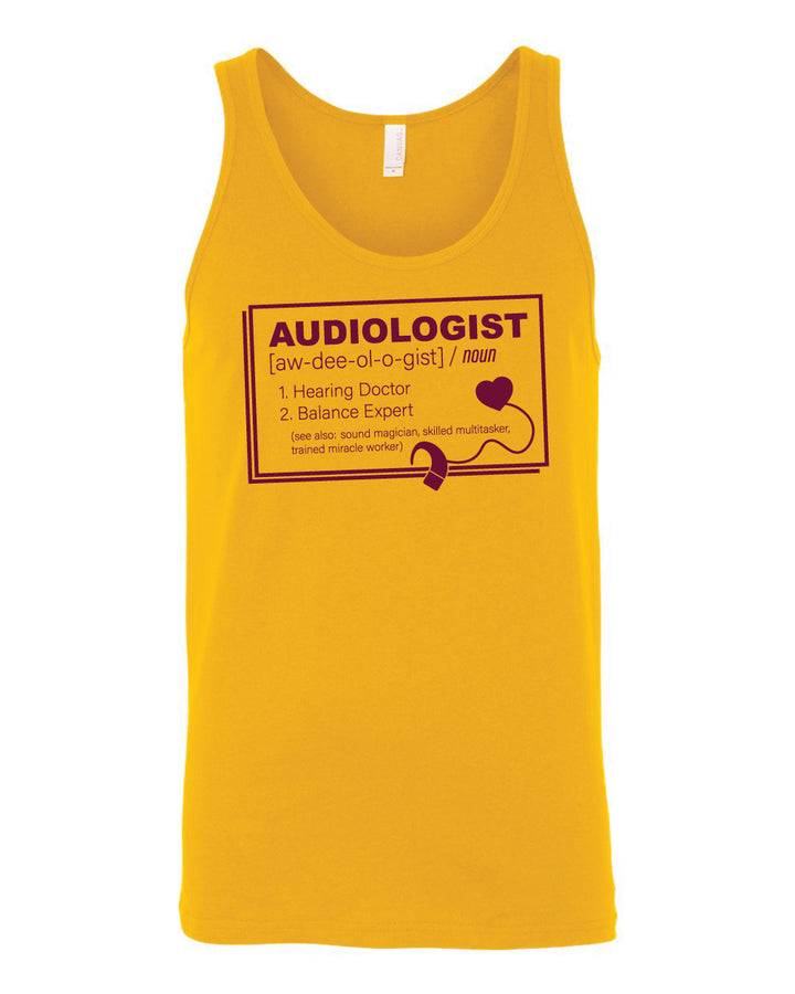 CMU Audiology Definition - Men's Tank Top
