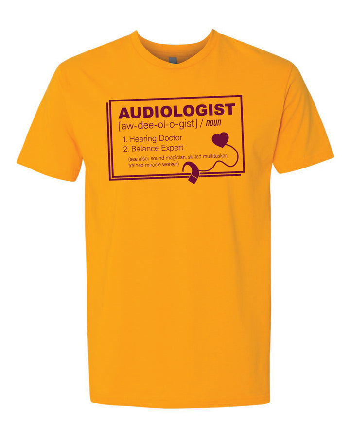 CMU Audiology Definition - Unisex T-Shirt