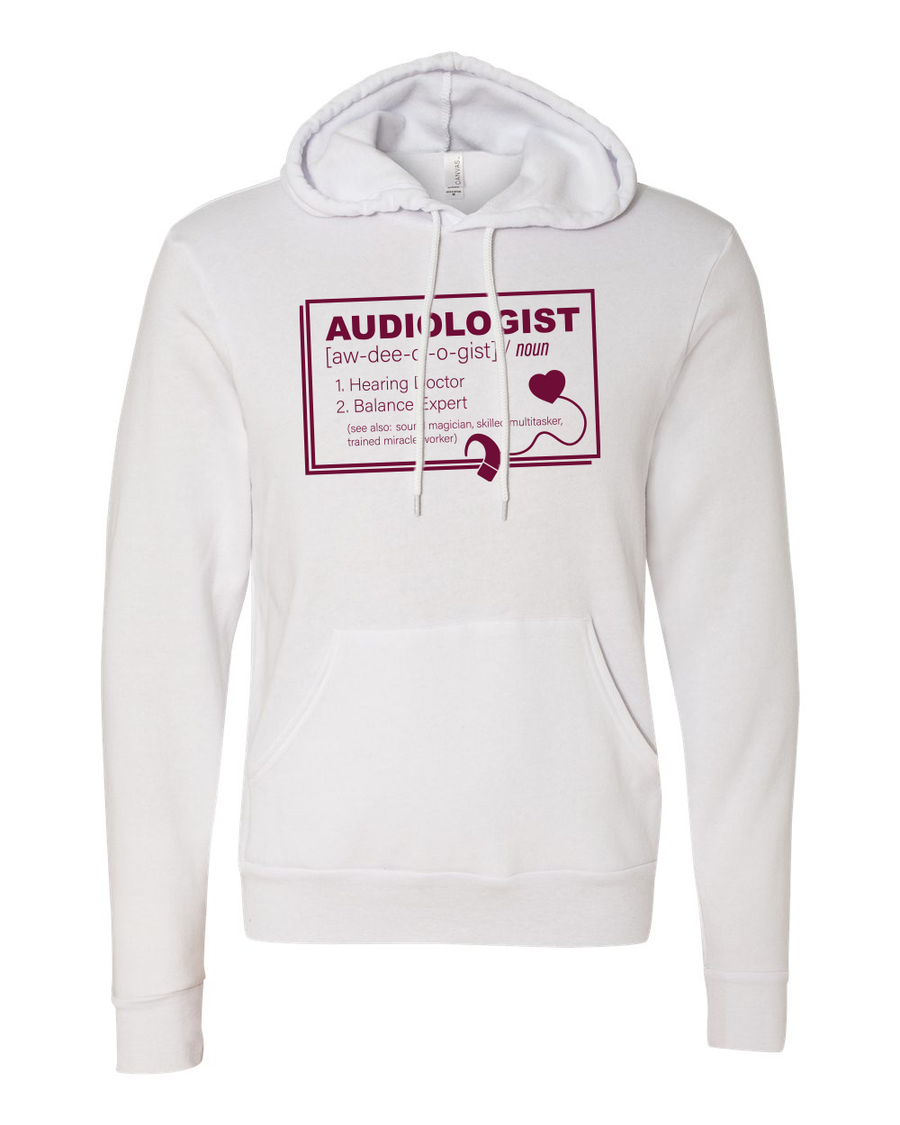 CMU Audiology Definition - Unisex Hoodie