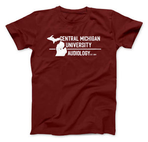 Central Michigan University Audiology - Unisex TShirt