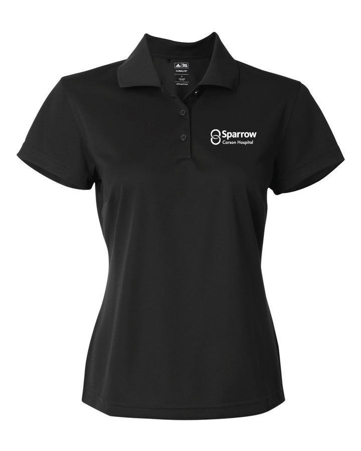 Carson Hospital - COVID Response Adidas Polo w/Embroidered Logo - Women's