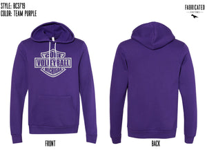 Core Volleyball - Purple Hoodie