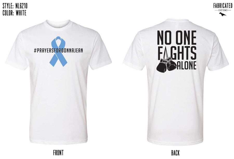 No One Fights Alone - White T-shirt