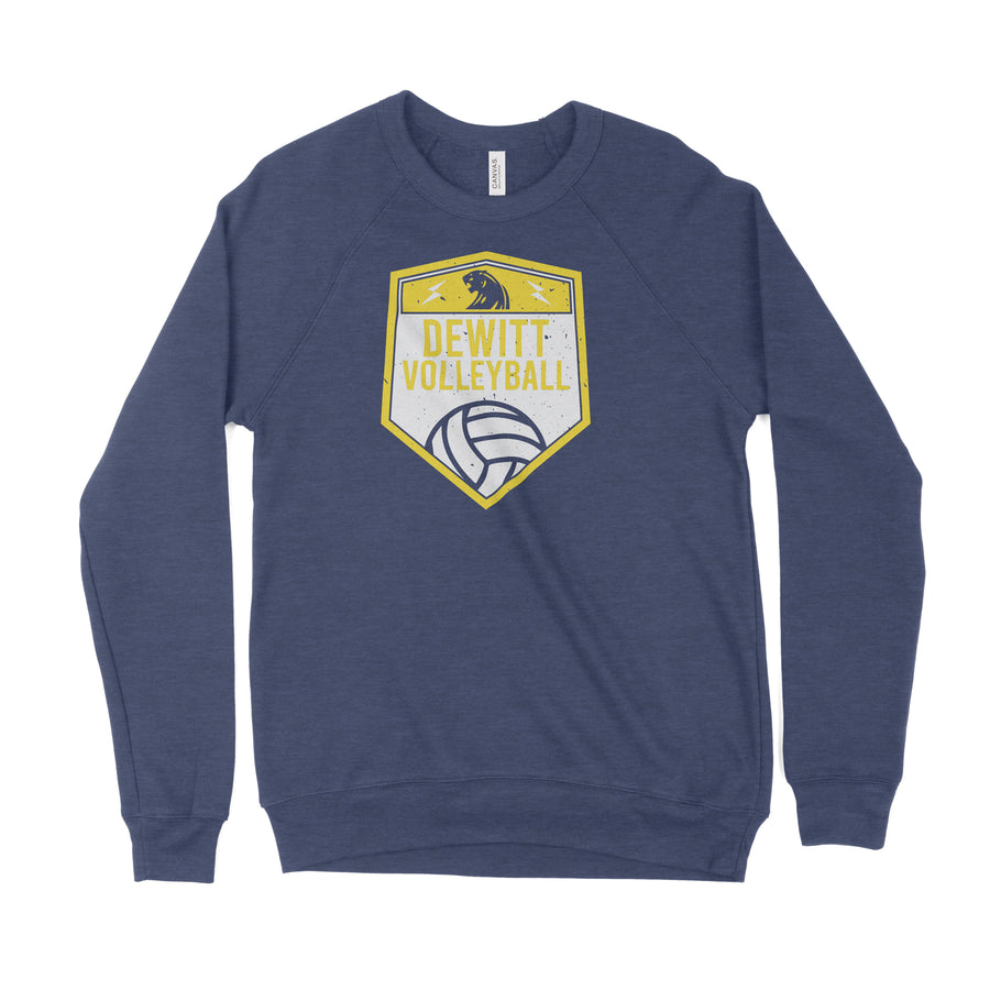 DeWitt High School Shield Sweatshirt