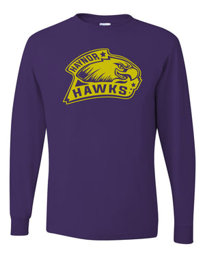 Haynor Hawks - Deep Purple Long Sleeve