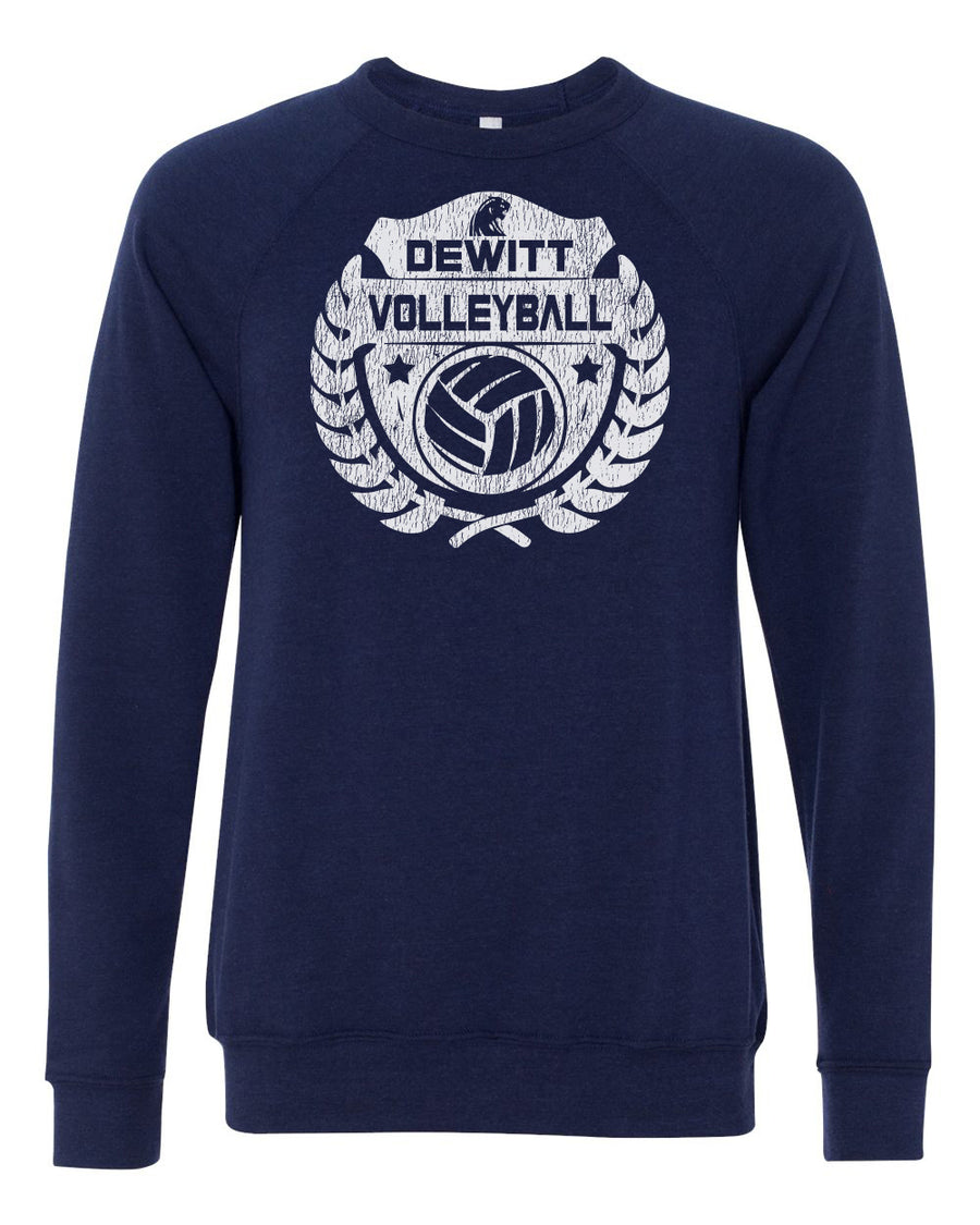 DeWitt Volleyball - Laurel Crewneck
