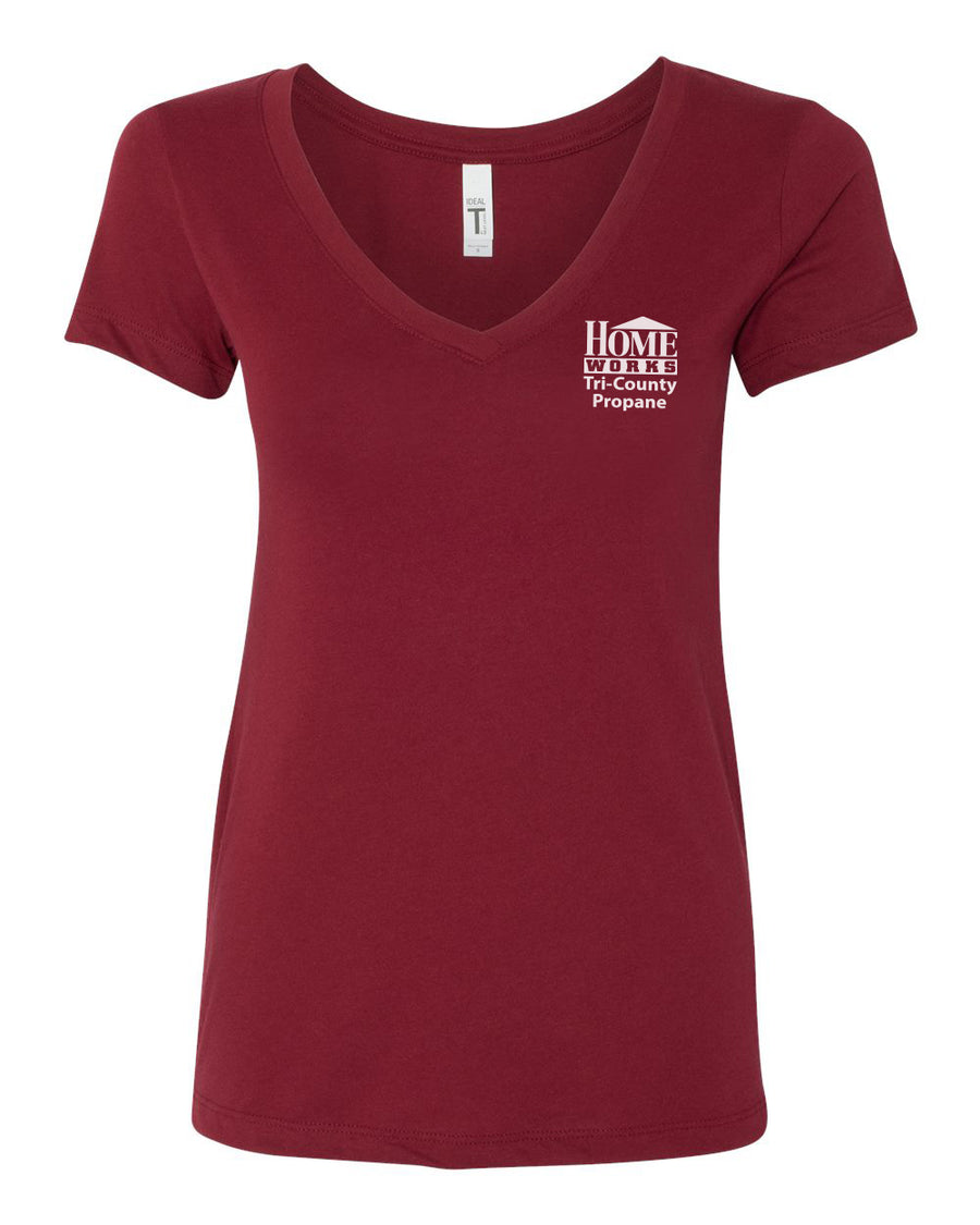 HomeWorks - Women's V-neck TShirt