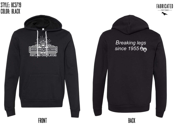 Portland Civic Players - Hoodie