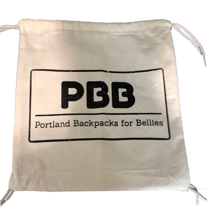 Portland Backpacks for Bellies (PBB) - Tote Bag