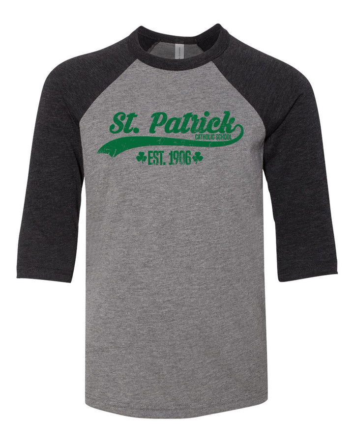 St. Patrick Est. 1906 - Youth Baseball Tee