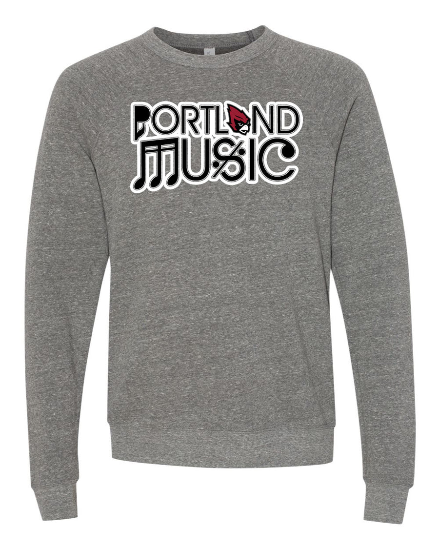 Portland Music - Gray Crew Neck Sweatshirt