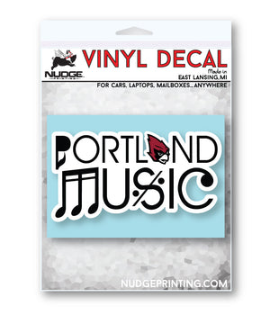 Portland Music - Decal