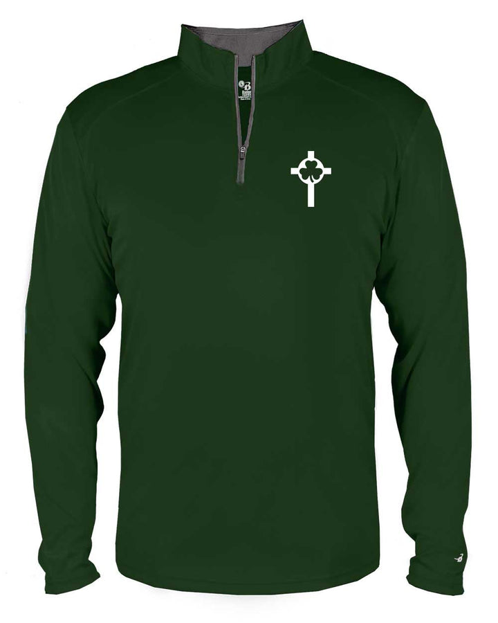 St. Patrick Volleyball Quarter Zip