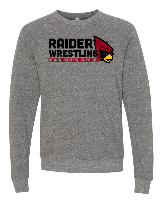 Raiders Wrestling Middle School - Crew Neck Sweatshirt