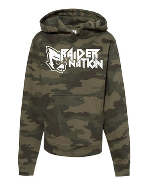 Fabricated Customs - Raider Nation Camo Youth Hoodie
