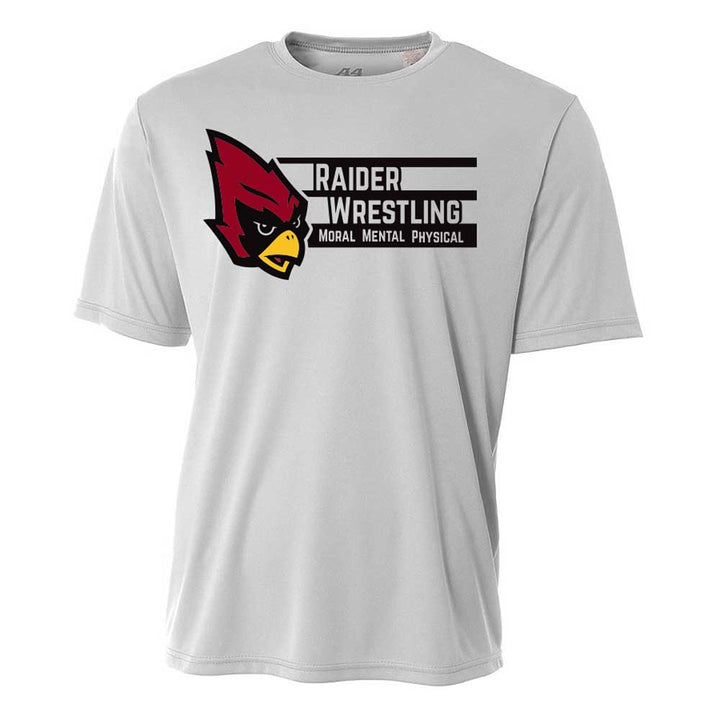 Raiders Wrestling - Moisture Wicking T-Shirt