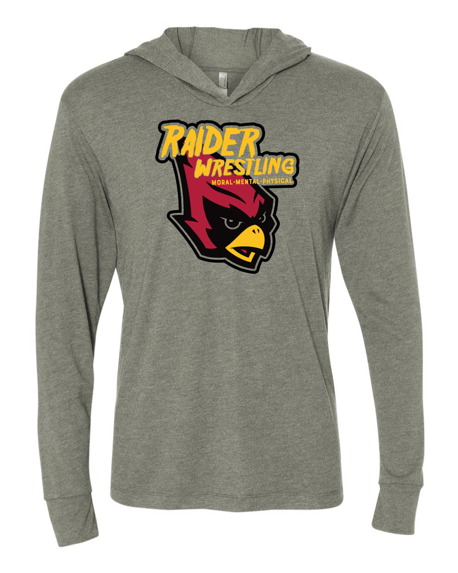 Raider Wrestling 2020 - Unisex Lightweight Hooded T-Shirt