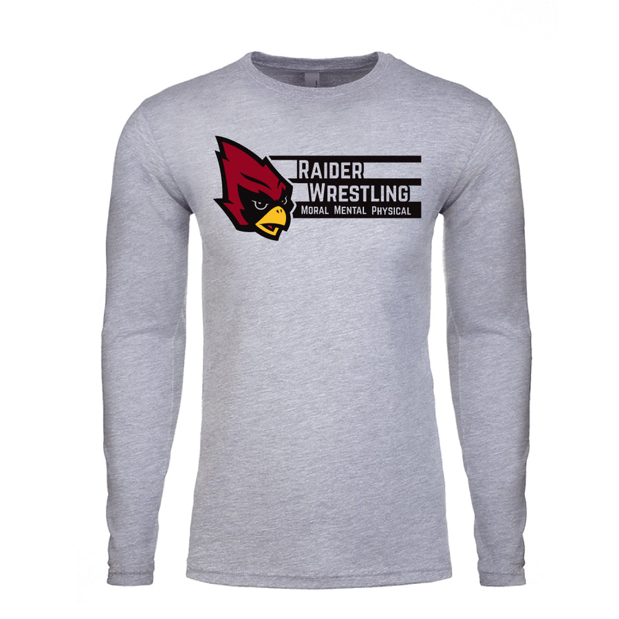 Raiders Wrestling - Long Sleeve Shirt