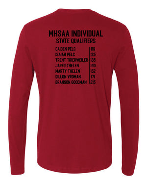 Raiders Wrestling MHSAA - Long Sleeve Shirt