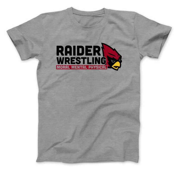 Raiders Wrestling Middle School - T-Shirt