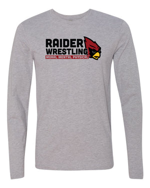 Raiders Wrestling Middle School - Long Sleeve Shirt