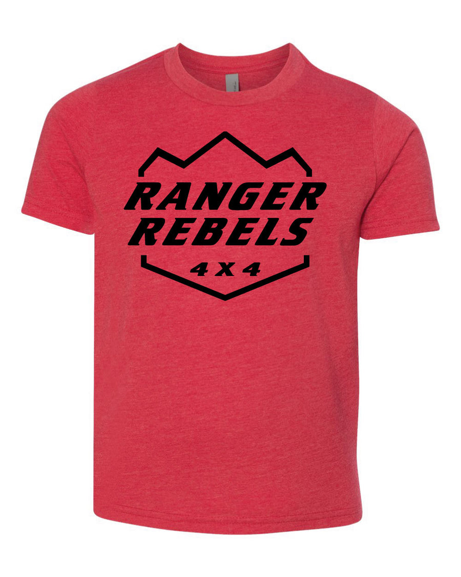 Ranger Rebels - Red T-Shirt