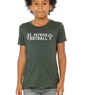 St. Patrick Football T-Shirt - Youth
