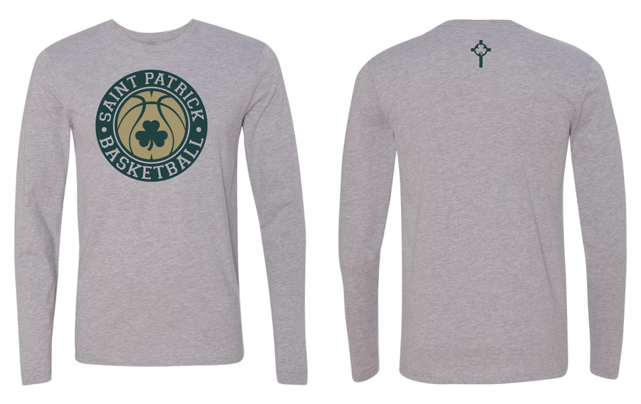 St. Patrick - Vintage Basketball Long Sleeve (Preorder)