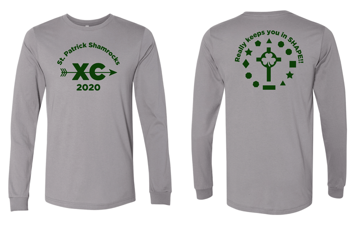 St. Patrick Cross Country Long Sleeve TShirt