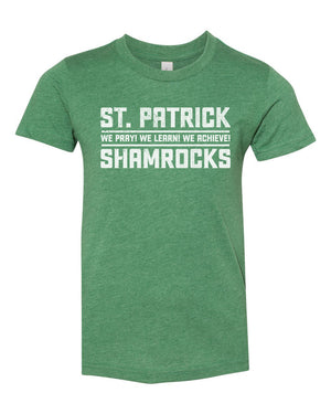 St. Patrick Shamrocks Bold - Youth T-shirt