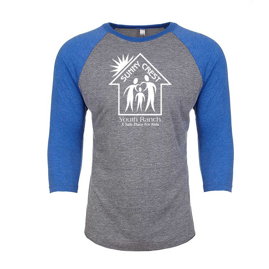 Sunny Crest Youth Ranch - Unisex Baseball Tee