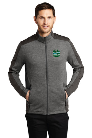 Timber Creek Ranch - Men's Zip Up Jacket w/Embroidered Logo