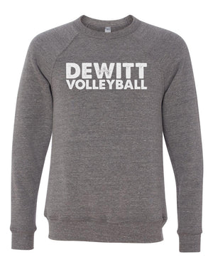 DeWitt Volleyball - Block Crewneck