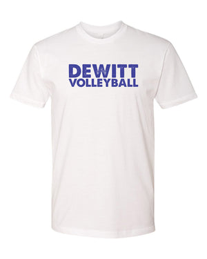 DeWitt Volleyball - Block Tee