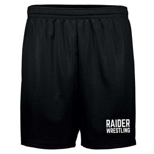Raiders Wrestling Middle School  - Mesh Shorts