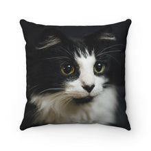 Load image into Gallery viewer, Custom Cat Square Pillow