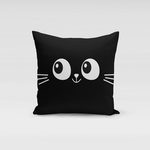 Cat Eyes & Whiskers Pillow Cover - Boujeecat