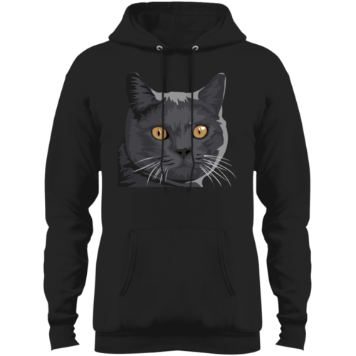 British-Shorthair Fleece Pullover Hoodie