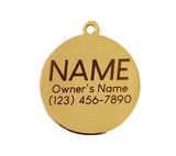 Silently Judging You Pet ID Tag - Free Engraving - Boujeecat