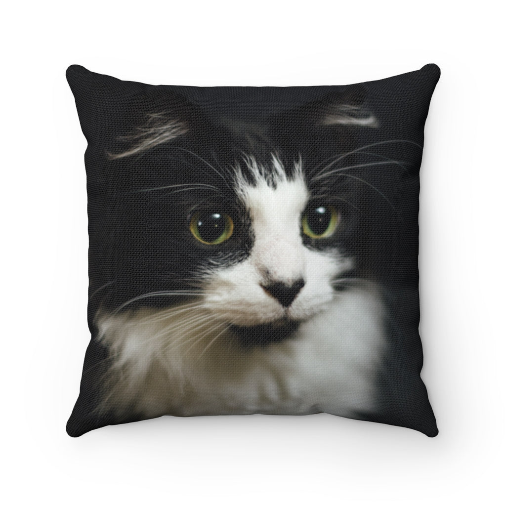 Custom Cat Square Pillow