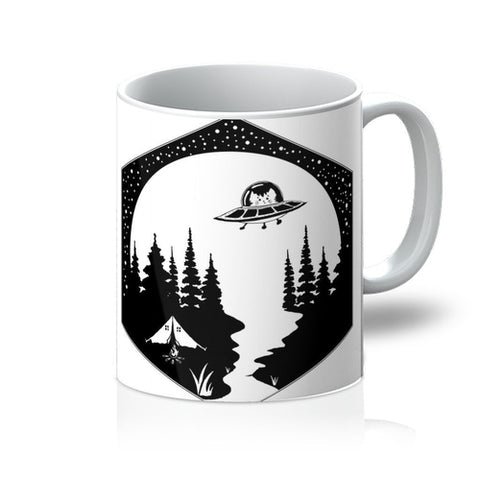 Space Cat Camping Mug - Boujeecat